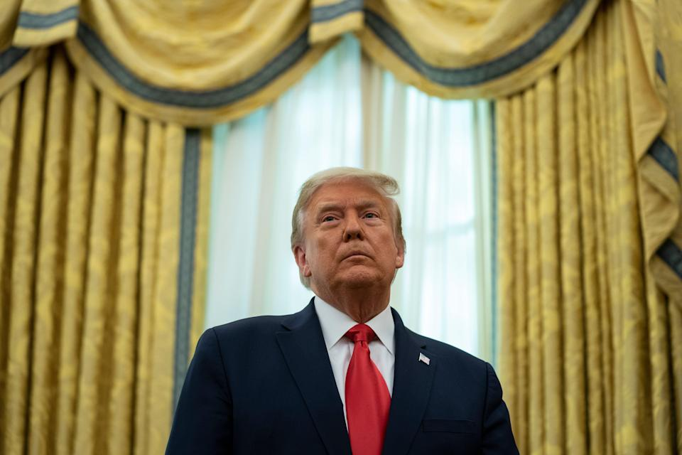 Trump Legal Challenges (Copyright 2020 The Associated Press. All rights reserved)