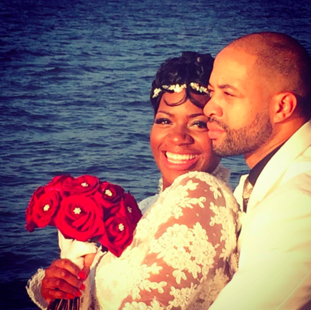 Fantasia Barrino Marries Kendall Taylor Aboard A Yacht