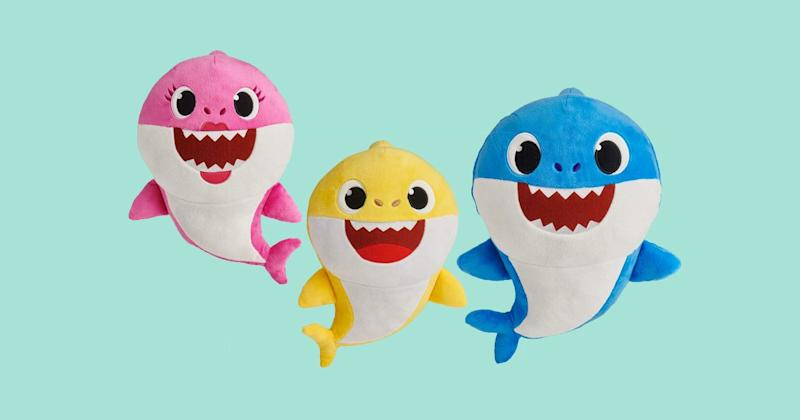 this toy company is behind fingerlings which are electronic toys that were one of the most popular toys last holiday season this baby shark is just