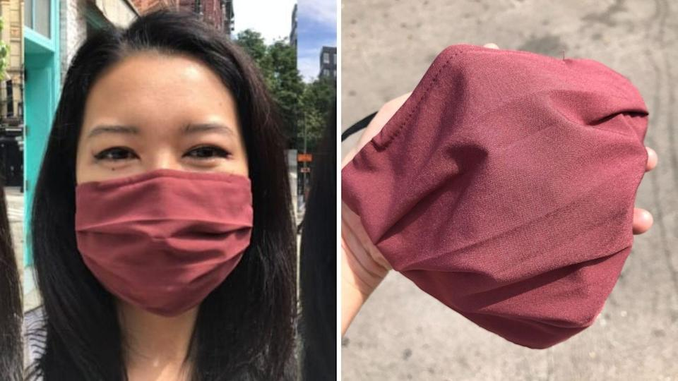 The Athleta mask's perfect combination of breathability and protection makes it a must-have.