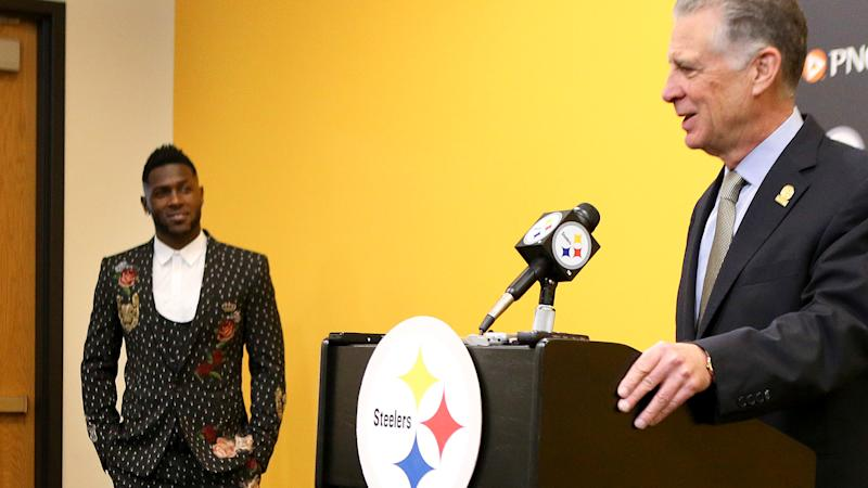 Antonio Brown removes mention of Steelers from Twitter bio and loves art