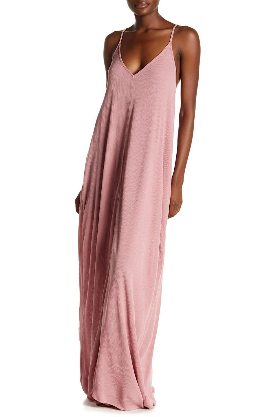 """<h2>Love Stitch V-Neck Sleeveless Maxi Dress</h2><br><strong><em>The Best-Kept Secret</em></strong><br><br>Summer after summer, we watch this lightweight, stylish dress sell out on Nordstrom Rack, and the reviews continue to pile up. Savvy shoppers know that this under-$30 hidden gem is worth buying up in multiples — it's the kind of frock you'll wear all summer long.<br><br><strong>The Hype: </strong>4.2 out of 5 stars; 3,278 reviews on NordstromRack.com<br><br><strong>What They're Saying: </strong>""""Summer dress VIP. I own this dress in roughly 20 different colors/patterns. The BEST for the summer."""" — Christinadreams08, NordstromRack.com reviewer<br><br><em>Shop <strong><a href=""""http://nordstromrack.com"""" rel=""""nofollow noopener"""" target=""""_blank"""" data-ylk=""""slk:Nordstrom Rack"""" class=""""link rapid-noclick-resp"""">Nordstrom Rack</a></strong></em><br><br><strong>Love Stitch</strong> V-Neck Sleeveless Maxi Dress, $, available at <a href=""""https://go.skimresources.com/?id=30283X879131&url=https%3A%2F%2Fwww.nordstromrack.com%2Fs%2Flove-stitch-v-neck-sleeveless-maxi-dress%2Fn1236804%3Fcolor%3DSMOKE%2520ORCHID"""" rel=""""nofollow noopener"""" target=""""_blank"""" data-ylk=""""slk:Nordstrom Rack"""" class=""""link rapid-noclick-resp"""">Nordstrom Rack</a>"""