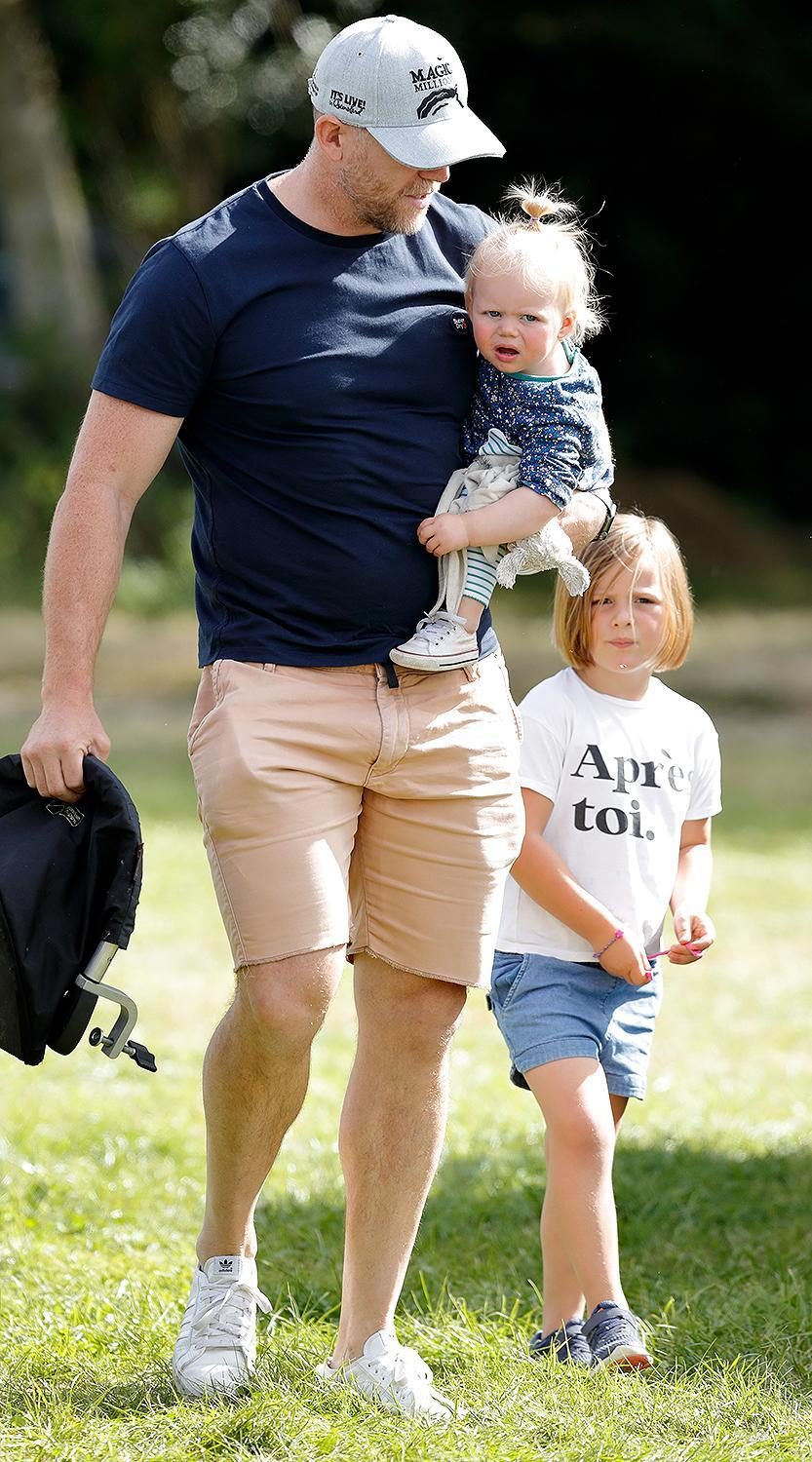 <p>Zara and Mike Tindall are proud parents of three! Daughters Mia and Lena became big sisters in 2021, when their doting parents welcomed baby brother Lucas.</p>