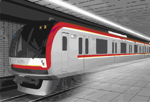 Proposed design of the subway train