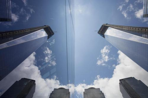 Completato il 4 World Trade Center: festa a Manhatan