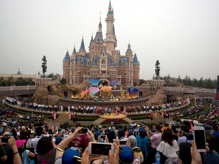 shanghi storybook castle ampitheater