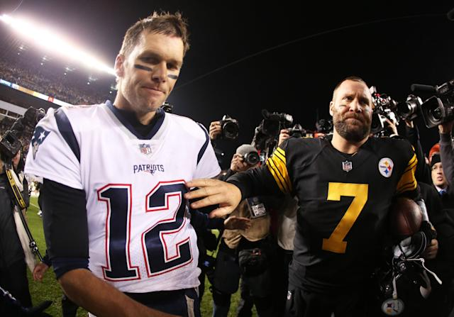 Ben Roethlisberger came out on top the last time the Steelers and Patriots played. (Getty)