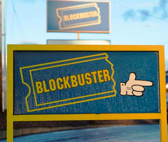 <p>FYI, there is actually *one* remaining Blockbuster on planet earth. It's in Bend, Oregon, but it's basically a tourist attraction at this point.</p>