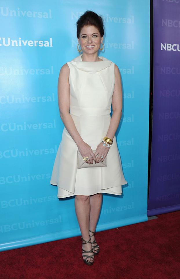 """<a href=""""/debra-messing/contributor/49886"""">Debra Messing</a> (""""<a href=""""/smash/show/47403"""">Smash</a>"""") attends the 2012 NBC Universal Winter TCA All-Star Party at The Athenaeum on January 6, 2012 in Pasadena, California."""