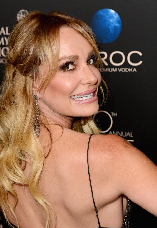 BEVERLY HILLS, CA - JUNE 16: TV personality Taylor Armstrong attends The 40th Annual Daytime Emmy Awards at The Beverly Hilton Hotel on June 16, 2013 in Beverly Hills, California. (Photo by Mark Davis/Getty Images)
