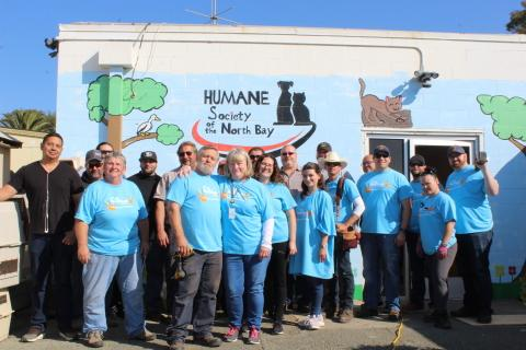 Six Flags Employees Fan Out Across North America for 10th Annual Day of Service with Project 6