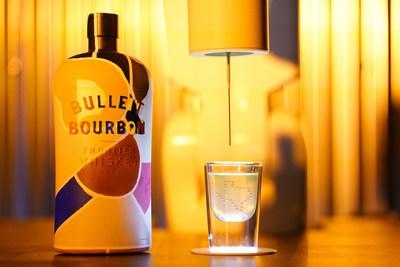Bulleit 3D Printed Bottle and Bulleit 3D Printed Cocktail.