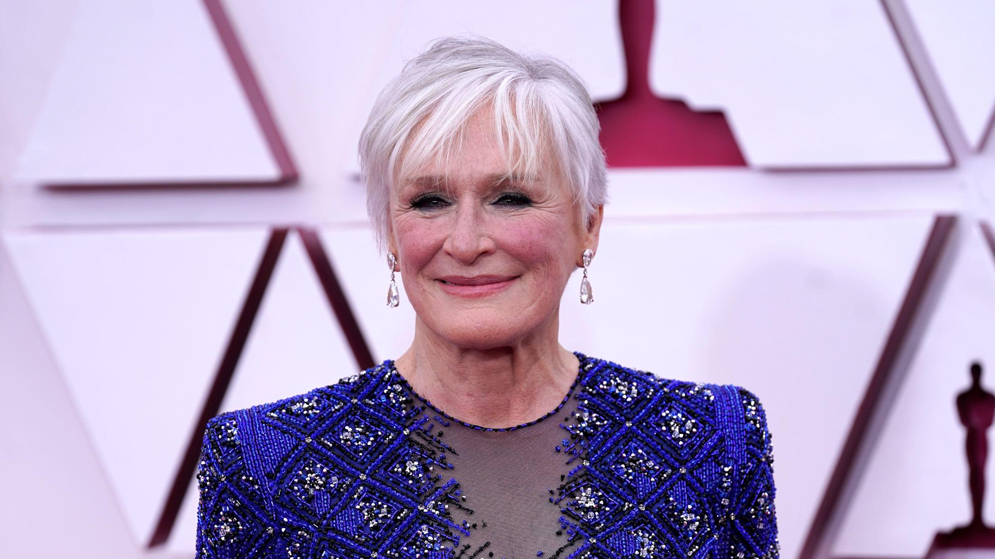 Glenn Close reveals how her viral Oscars dance came to be