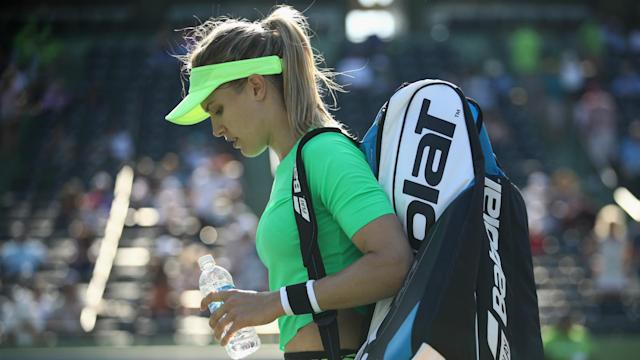 Canadian star and 2014 Wimbledon runner-up Eugenie Bouchard went down in three sets to Ashleigh Barty at the WTA Premier tournament.