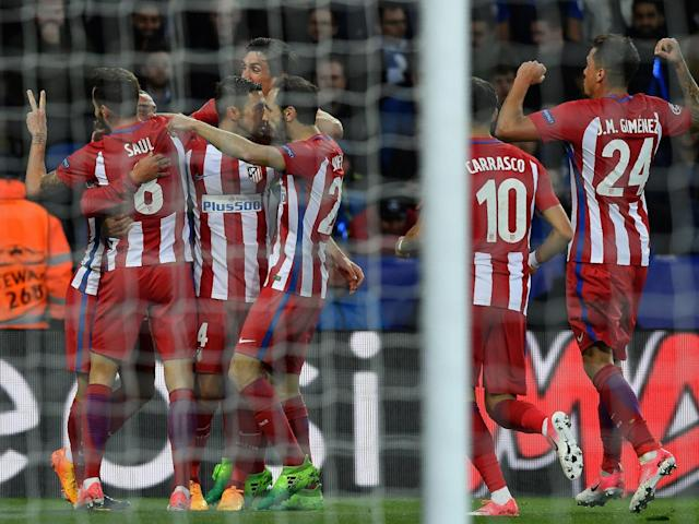 Atletico doubled their advantage through Saul's header (Getty)