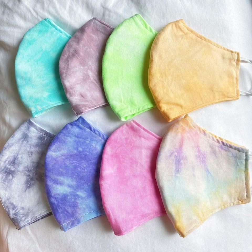 <p>This <span>Tie-Dye Face Mask</span> ($12) is a customer favorite.</p>
