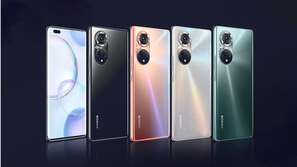 HONOR 50 Pro appears in new renders; design features revealed