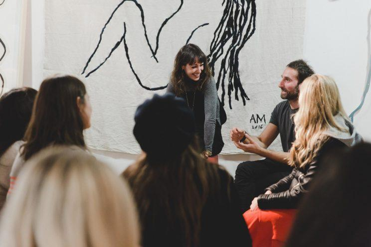 <i>Although men aren't allowed to join, Payne encourages them to participate in the programme [Photo: Dunja Opalko]</i>
