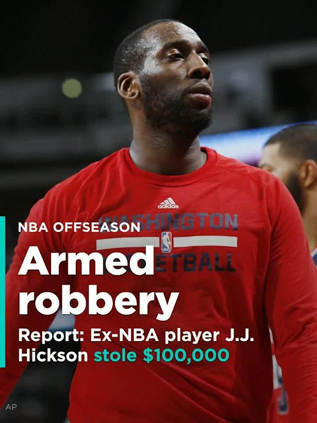 J.J. Hickson, a former NBA player who played in the Lebanese Basketball League this past year, was arrested Friday. He is being held without bail in Coweta County Jail in Georgia after being charged with armed robbery.