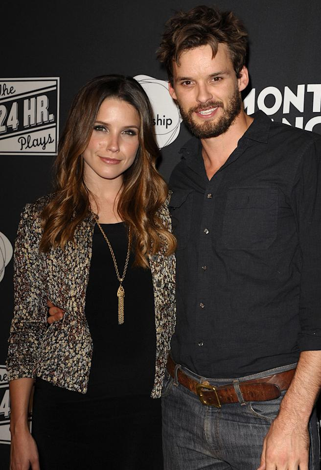 Actress Sophia Bush and actor Austin Nichols attend Montblanc presents 24 Hour Plays LA at Pier 59 Studios on June 18, 2011 in Santa Monica, California.