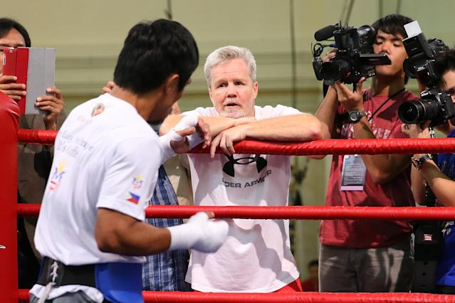 Boxing's Trainer of the Year: Freddie Roach