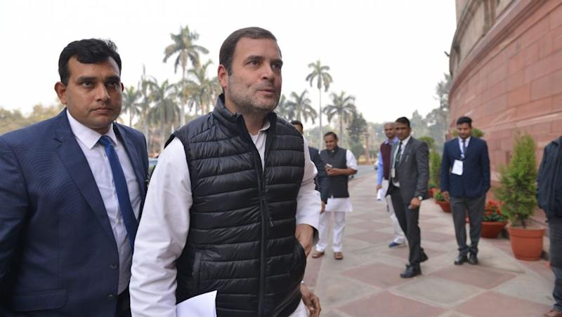 Rahul Gandhi Hits Back at PM Narendra Modi For Mocking 'Mahagathbandhan'