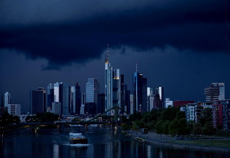 German activity picks up, can't escape official recession