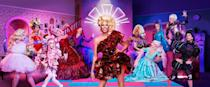 """<p>Bing, bang, bong, this is the one for your crew if you all love Drag Race. An instructor takes you through some RP classics and dance routines, then you get to take to the runway and battle it out from a list of anthems. Will you sashay away or shantay you stay?</p><p>Venues nationwide. Enquire for prices.</p><p><a class=""""link rapid-noclick-resp"""" href=""""https://thestagandhenexperience.com/activity/hen/rupauls-drag-race"""" rel=""""nofollow noopener"""" target=""""_blank"""" data-ylk=""""slk:BOOK HERE"""">BOOK HERE</a></p>"""