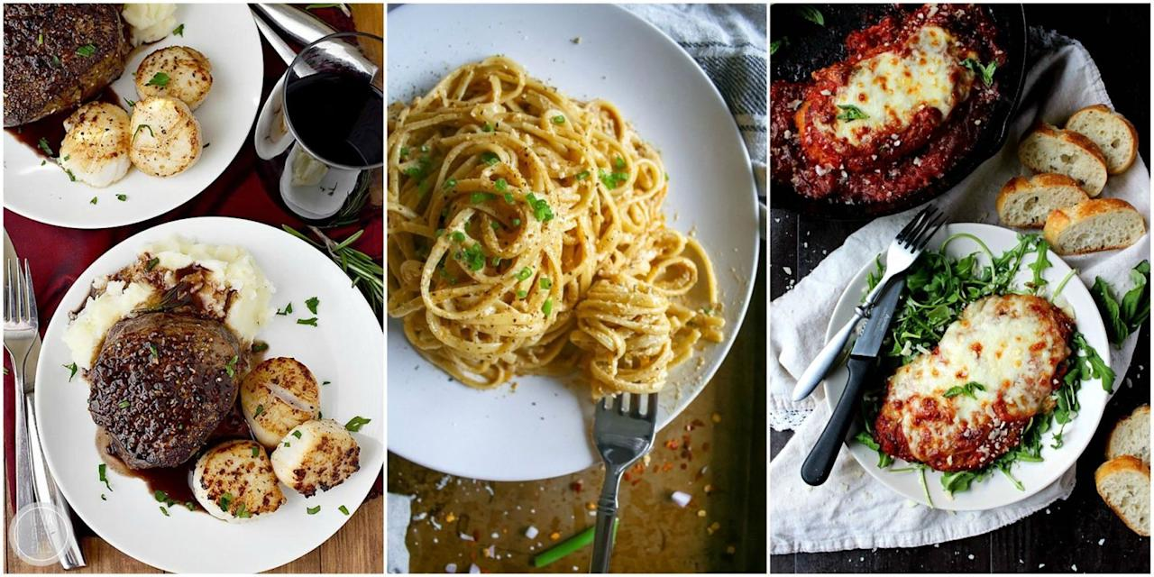 15 easy dinner ideas for two that will impress your for Simple yet delicious dinner recipes