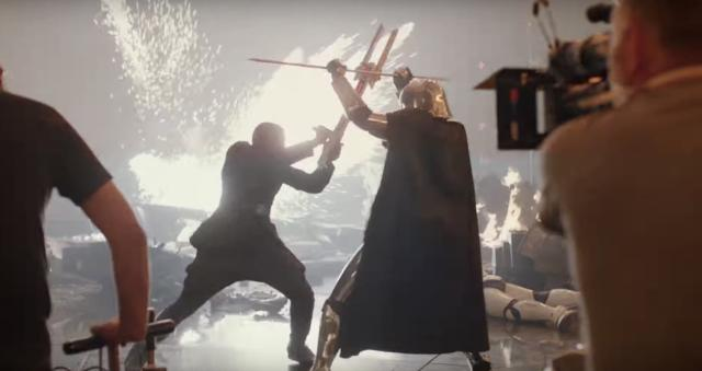 'Star Wars' fighting is hard — just watch these 'Last Jedi' actors try to nail their moves