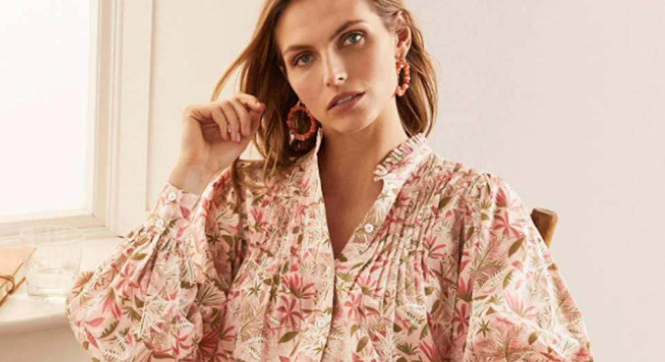 Boden has launched a huge sale - and you can even get an extra discount on top of those clearance items with a promotional code. (Boden)