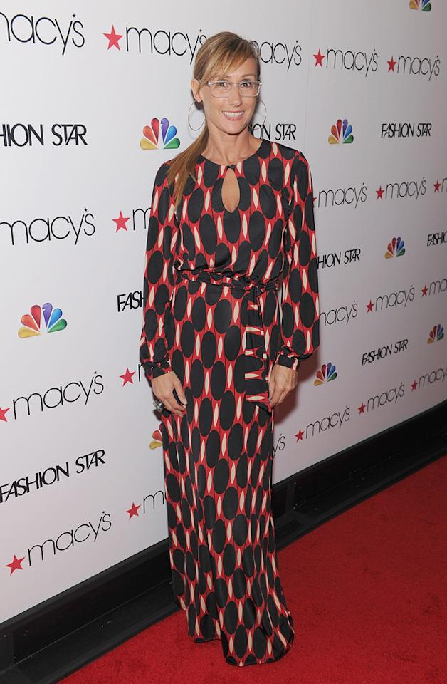 """Designer and 'Fashion Star' participant Nikki Poulos attends the """"<a target=""""_blank"""" href=""""http://tv.yahoo.com/fashion-star/show/47285"""">Fashion Star</a>"""" celebration at Macy's Herald Square on March 13, 2012 in New York City."""