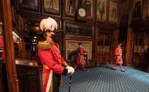 State Opening of Parliament at the Palace of Westminster, in London