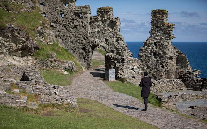Tintagel Castle is in danger of 'Disneyfication', a report by the Council of Europe says - 2016 Getty Images