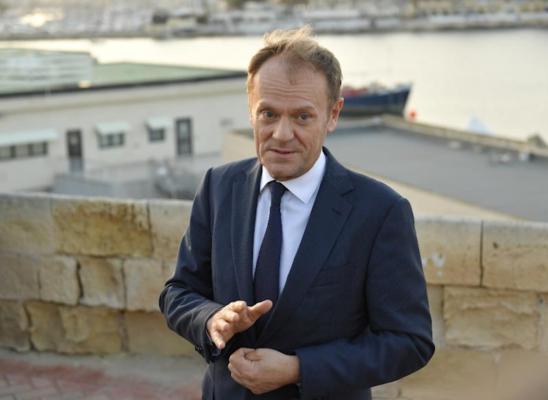 Donald Tusk has been in charge of the European Council since 2014 (AFP Photo/Andreas SOLARO)