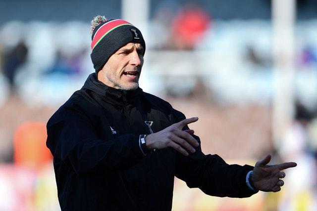 Harlequins v Exeter Chief & # x002013;  Galagher Premlila & # x002013;  Twinchanum Stoop