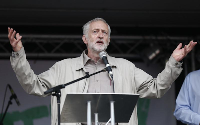 Jeremy Corbyn's name appears in two CIA files - AFP