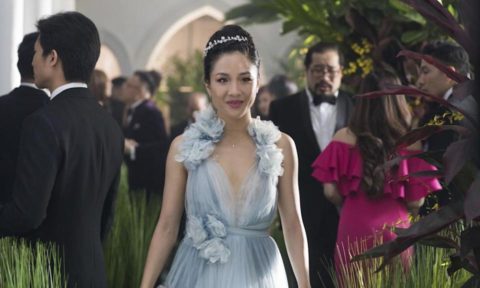 Constance Wu in a scene from the film Crazy Rich Asians.