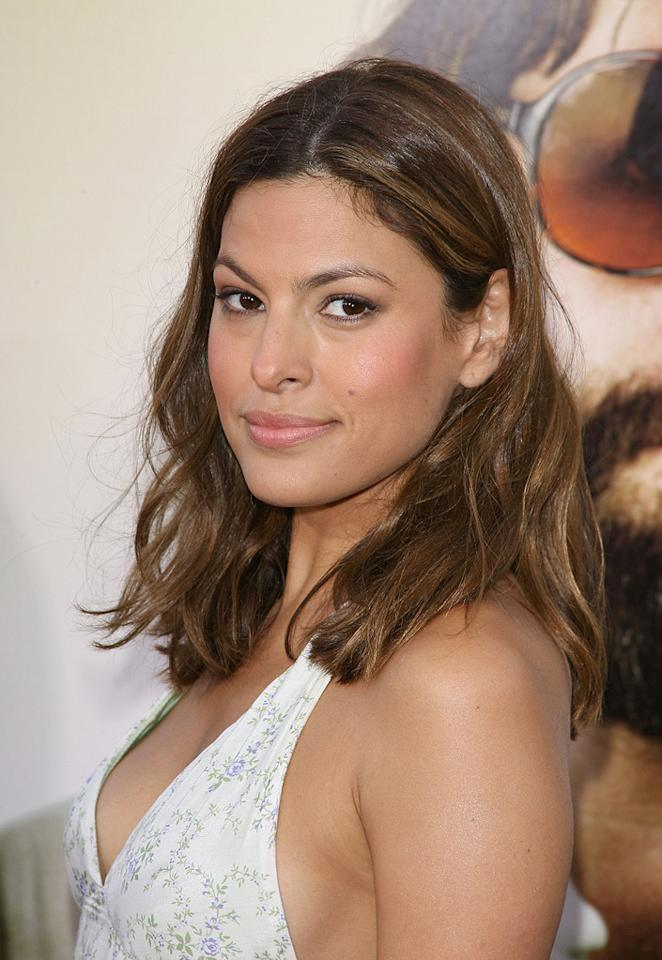 """<a href=""""http://movies.yahoo.com/movie/contributor/1802957206"""">Eva Mendes</a> at the Los Angeles premiere of <a href=""""http://movies.yahoo.com/movie/1810044687/info"""">The Hangover</a> - 06/02/2009"""