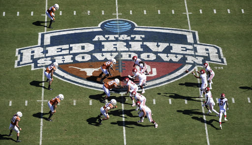 Texas, OU set for most unusual version of Red River rivalry