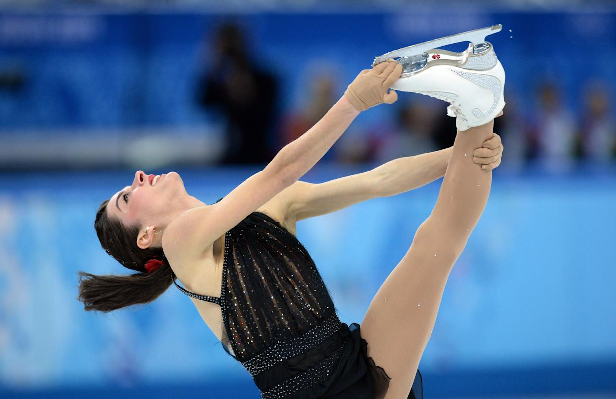 Italy's Valentina Marchei performs in the Women's Figure Skating Free Program at the Sochi Winter Olympics.