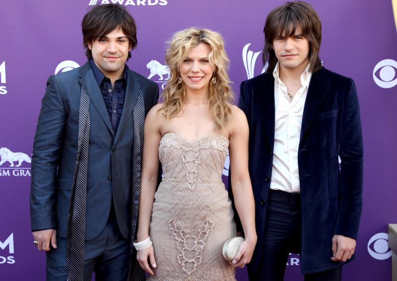 THE BAND PERRY, Live from the RAM Red Carpet, 47th Annual ACM Awards, Las Vegas, NV