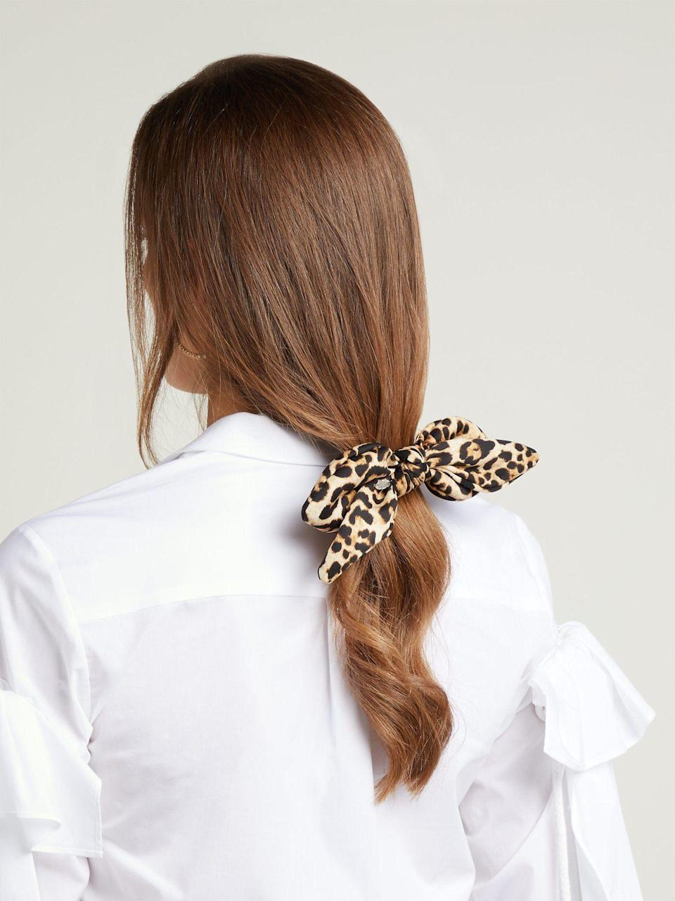 Haven't you heard? Hair accessories are back.