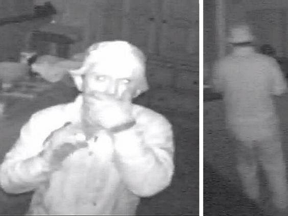 CCTV still issued by Metropolitan Police of prolific thief dubbed the 'Wimbledon Prowler' (PA)