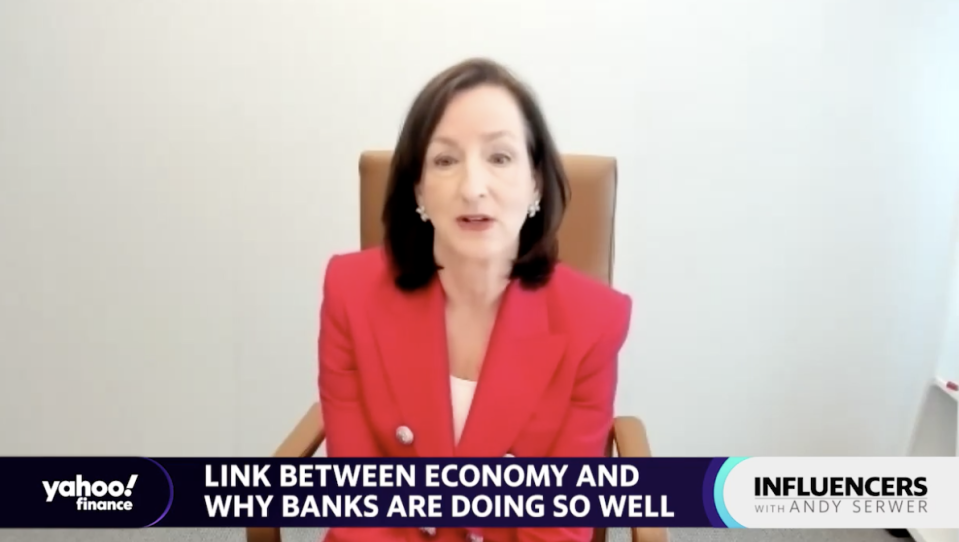 BNY Mellon Wealth Management CEO Catherine Keating speak with Yahoo Finance Editor-in-Chief Andy Serwer on an episode of
