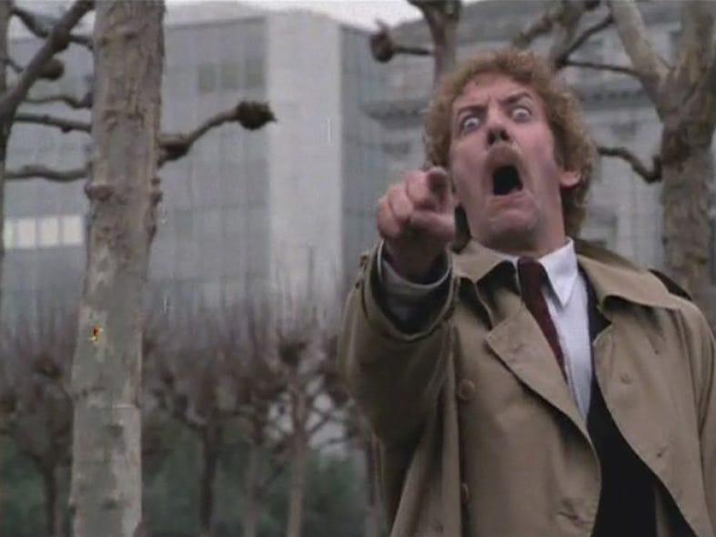 invasion of the body snatchers United Artists