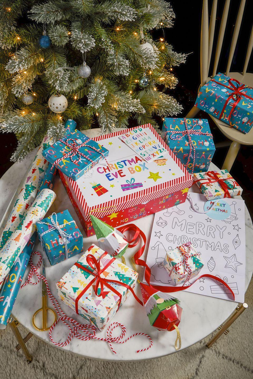 """<p>'Introduce festive fun when wrapping the kid's presents with Playful Brights gift wrap collection,' say Tesco. 'Spread Christmas joy with colourful wrapping and personalised <a href=""""https://www.housebeautiful.com/uk/lifestyle/shopping/a22708684/christmas-eve-box-ideas/"""" rel=""""nofollow noopener"""" target=""""_blank"""" data-ylk=""""slk:Christmas Eve boxes"""" class=""""link rapid-noclick-resp"""">Christmas Eve boxes</a>.'</p><p><strong>Follow House Beautiful on <a href=""""https://www.instagram.com/housebeautifuluk/"""" rel=""""nofollow noopener"""" target=""""_blank"""" data-ylk=""""slk:Instagram"""" class=""""link rapid-noclick-resp"""">Instagram</a>.</strong></p>"""