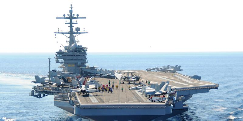 uss george h.w. bush