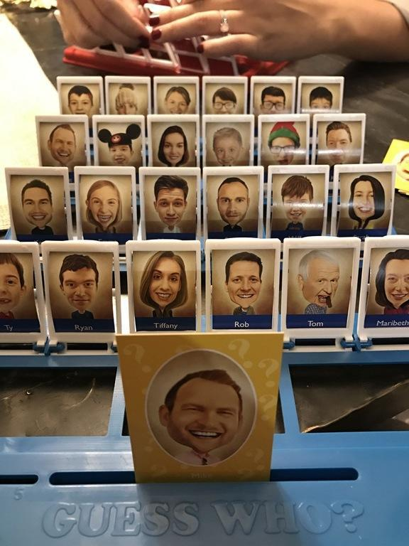 """<p>""""Made my mom a 'Guess Who?' game of our family for Christmas. I think it turned out pretty good."""" [Photo: Reddit/MJB414] </p>"""