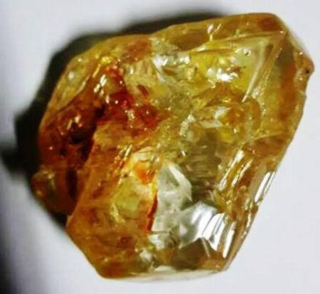 An undated picture of a 706-carat diamond discovered by pastor Emmanuel Momoh in eastern Sierra Leone